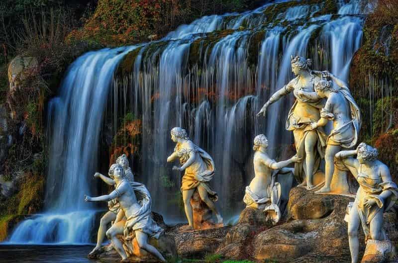 Statue Reggia di Caserta